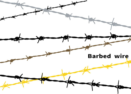 Barbed-wiress