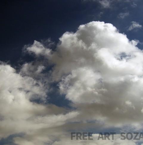高画質雲空写真素材