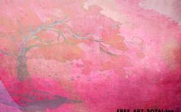 桜背景イラスト素材