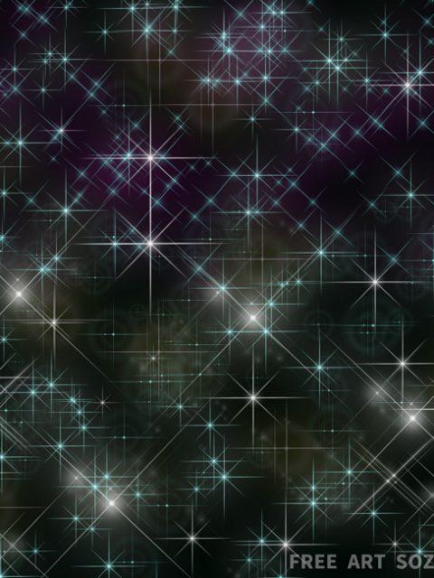 Photoshopブラシ「星光スパークル」