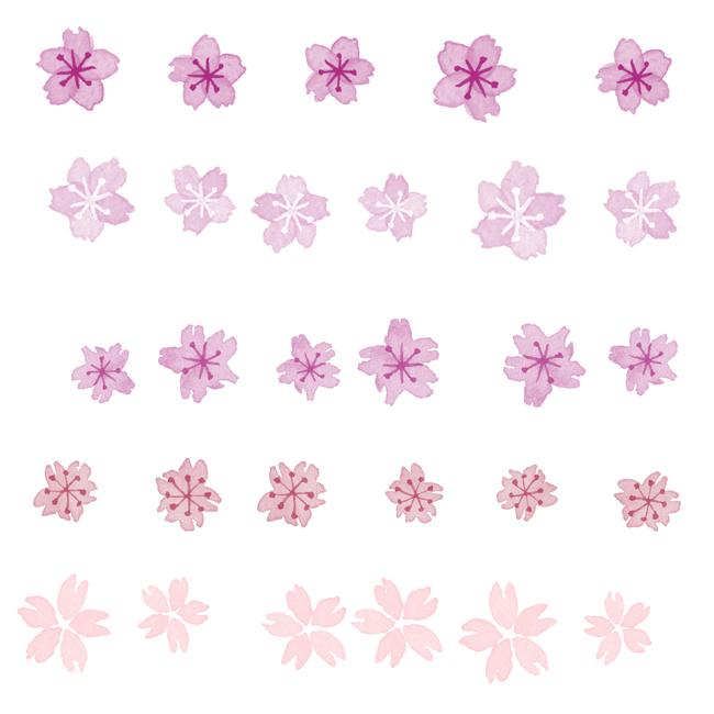 Photoshopブラシ桜