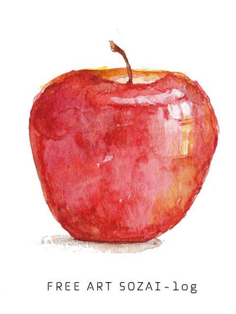 りんごイラスト